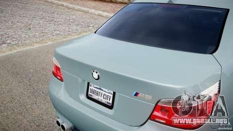BMW M5 E60 para GTA 4 vista lateral
