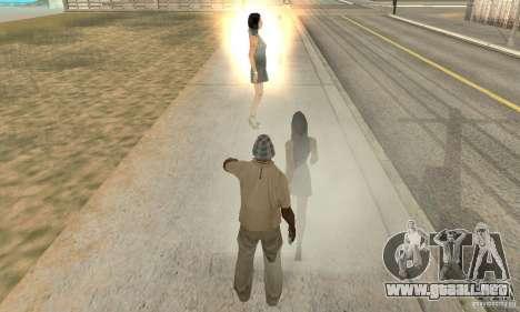 SuperClon (clonación personas en SAN ANDREAS) para GTA San Andreas tercera pantalla