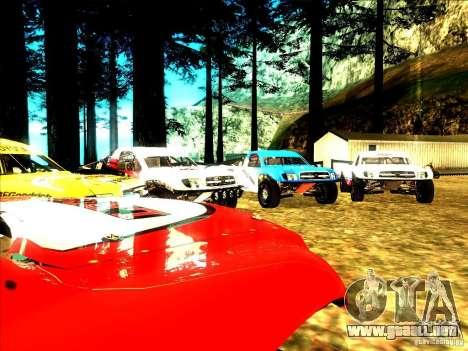 Toyota Tundra Rally para la vista superior GTA San Andreas