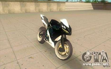 Yamaha Copbike Beta para GTA San Andreas