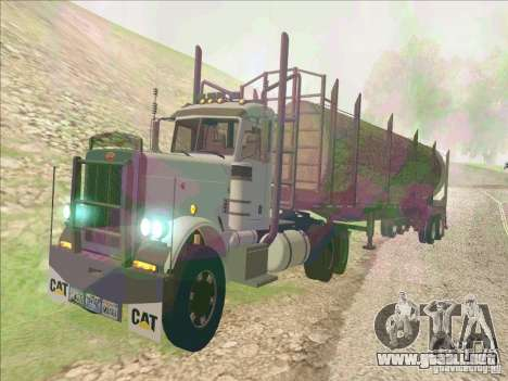 Peterbilt 379 para GTA San Andreas left