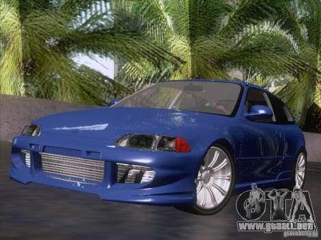 Honda Civic IV GTI para GTA San Andreas
