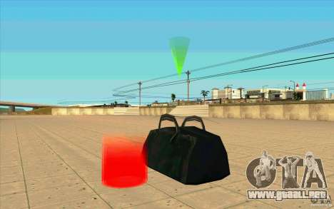 U.S.A.F. Cargo para GTA San Andreas sucesivamente de pantalla