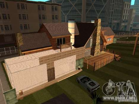 Villa en San Fierro para GTA San Andreas