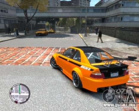 Sultan RS HD FreeStyle Team para GTA 4 left