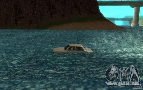 Admiral Boat para GTA San Andreas left