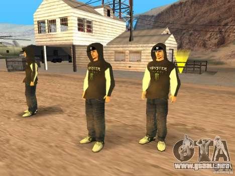 Ken Block Family para GTA San Andreas