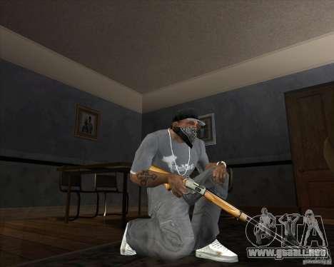 Jarra Mono Arsenal v1.2 para GTA San Andreas sexta pantalla