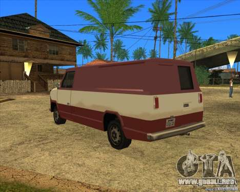 Transporter 1987 - GTA San Andreas Stories para GTA San Andreas left
