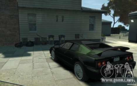 Lotus Esprit V8 para GTA 4 Vista posterior izquierda