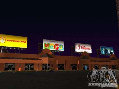 Tienda rusa en Las Venturase para GTA San Andreas tercera pantalla