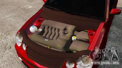 Volkswagen Polo Edit para GTA 4 vista interior