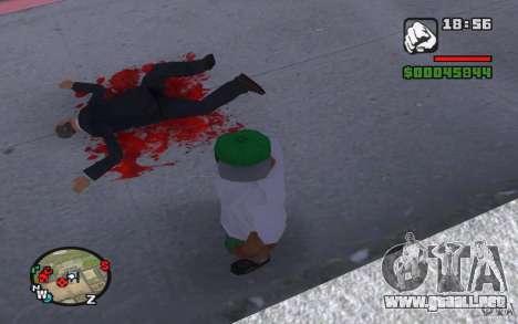 Sangre real para GTA San Andreas