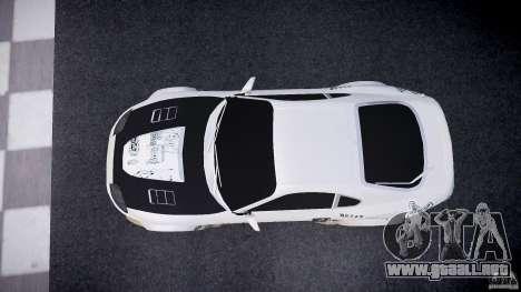 Toyota Supra ProStreet Style para GTA 4 visión correcta