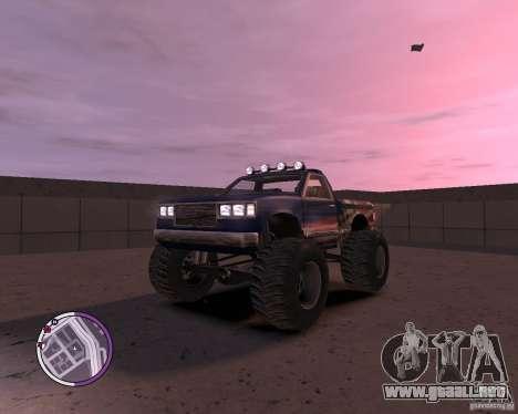 Monster from San Andreas para GTA 4 left