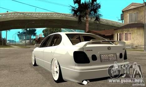 Lexus GS300 V 2003 para la visión correcta GTA San Andreas
