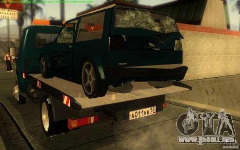 Camión de remolque 14 3302-gacela para la visión correcta GTA San Andreas
