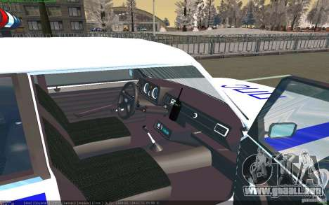 Vaz 2105 PPP Zhiguli para la visión correcta GTA San Andreas