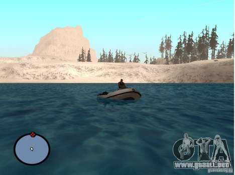 Winter Mod para GTA San Andreas quinta pantalla