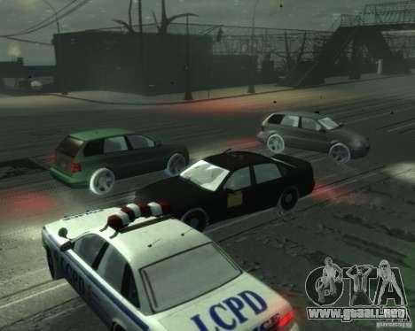 Winter Handling para GTA 4 tercera pantalla