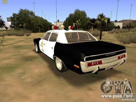 AMC Matador SA Police 1971 Final para GTA San Andreas left