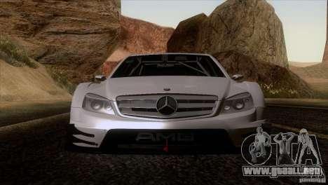 Mercedes Benz C-Class Touring 2008 para la visión correcta GTA San Andreas