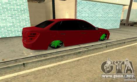 Lada Granta Dag Style para GTA San Andreas left