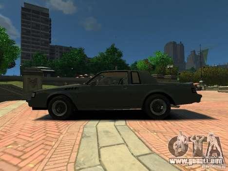 Buick Regal GNX para GTA 4 left