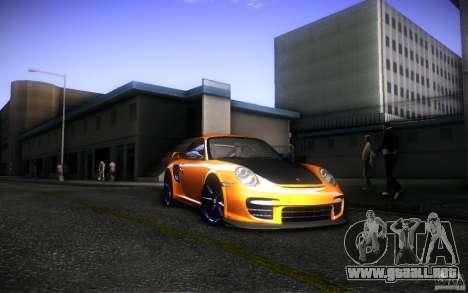 Porsche 911 GT2 RS 2012 para vista lateral GTA San Andreas
