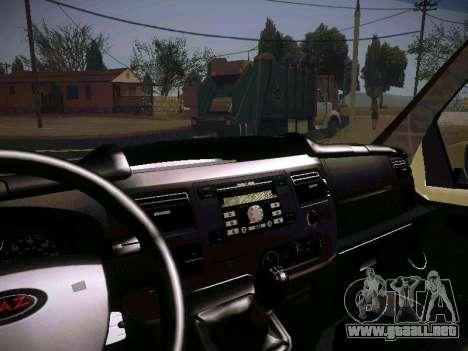 GAZ 2217 negocios para vista lateral GTA San Andreas