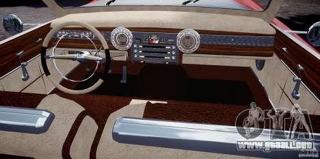 Buick Custom Copperhead 1950 para GTA 4 vista hacia atrás
