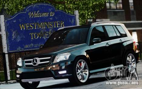 Mercedes-Benz GLK 320 CDI para GTA 4 visión correcta