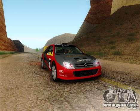 Citroen Xsara 4x4 T16 para GTA San Andreas left