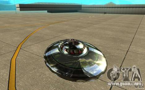 Real UFO para la visión correcta GTA San Andreas