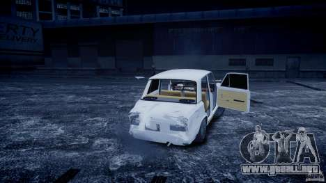 VAZ 2101 Avtosh estilo para GTA 4 vista interior