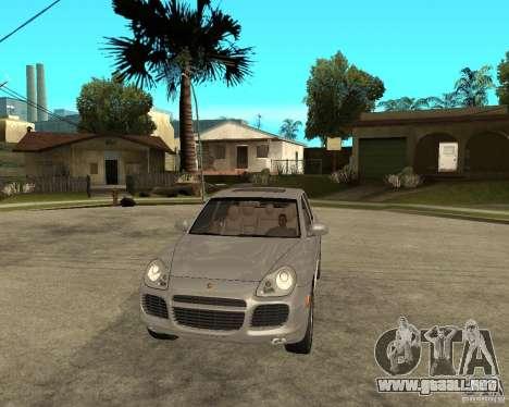 Porsche Cayenne Turbo para GTA San Andreas