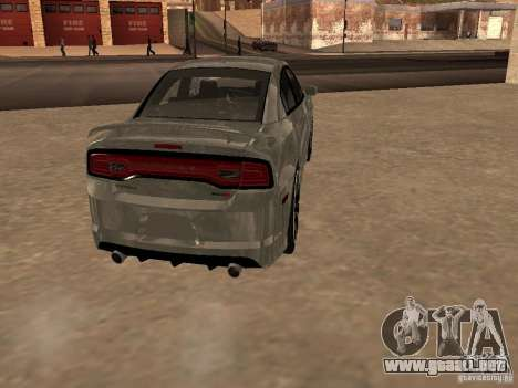 Dodge Charger SRT8 2011 V1.0 para la visión correcta GTA San Andreas
