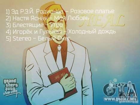 Radio popsa por BuTeK para GTA Vice City segunda pantalla