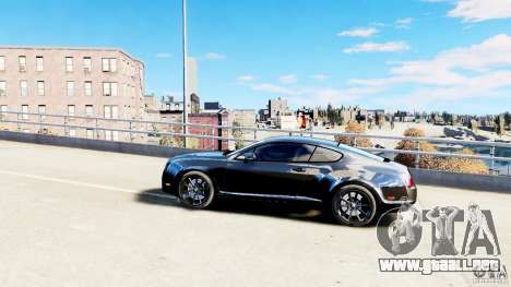 Bentley Continental SuperSports v2.5 para GTA 4 left