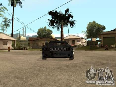 Dodge Challenger para GTA San Andreas left