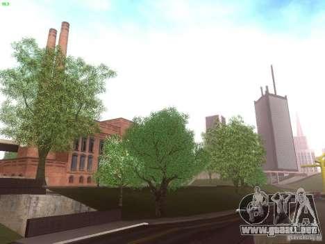 Spring Season v2 para GTA San Andreas quinta pantalla