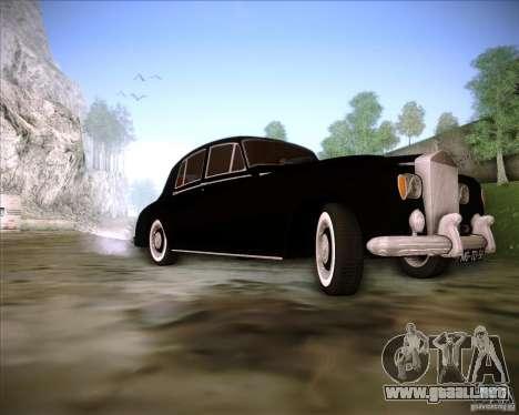 Rolls Royce Silver Cloud III para visión interna GTA San Andreas