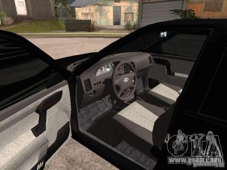 VAZ-2112 para GTA San Andreas vista posterior izquierda
