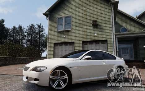 BMW M6 2010 v1.4 para GTA 4 vista lateral