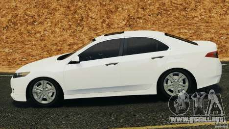 Honda Accord Type S 2008 para GTA 4 left