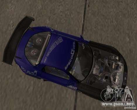 Mazda RX-7 FD3S special type para GTA San Andreas left
