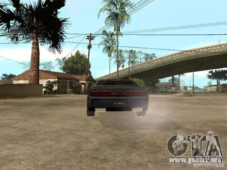 Dodge Challenger para la visión correcta GTA San Andreas