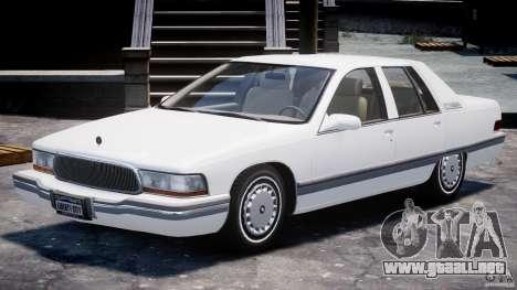 Buick Roadmaster Sedan 1996 v1.0 para GTA 4 left