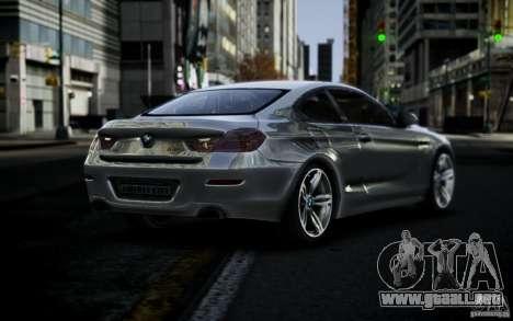 BMW 640i F12 para GTA 4 left