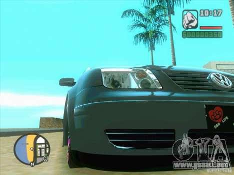 VW Bora Tuned para GTA San Andreas left